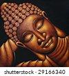 Sleeping Buddha - stock photo