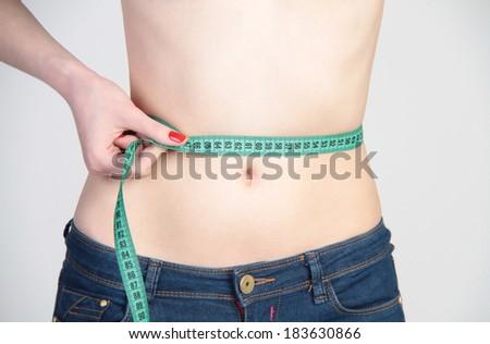slender body - stock photo