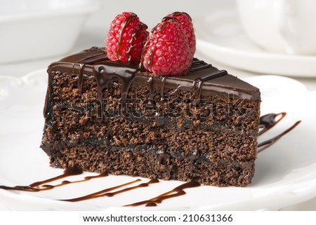 how to make chocolate layer on slice