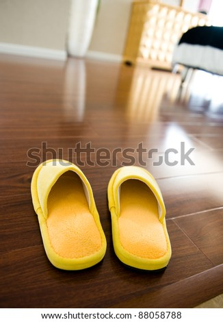 Slippers - stock photo