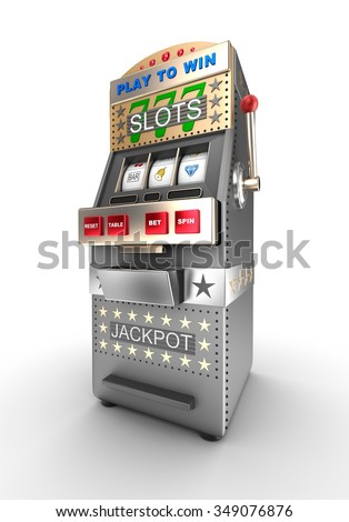 Slot machine, gamble machine.