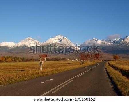 Slovak Tatras - stock photo