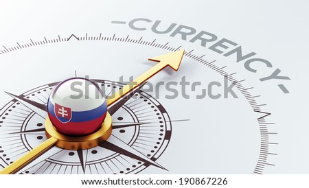 Slovakia High Resolution Currency Concept