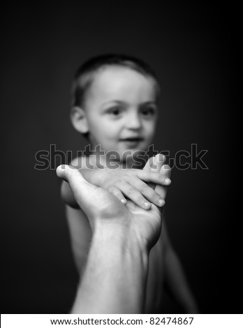 small boy - stock photo