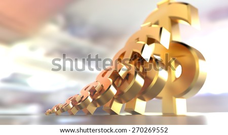 Small business growth or coaching motivational illustration. - stock photo