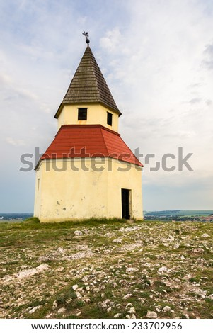 Small Church on the Hill, Calvary, Nitra, Slovakia