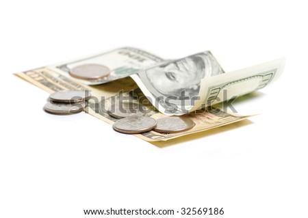 small coin - stock photo