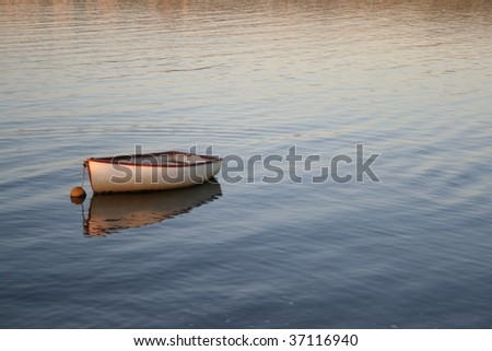 Small fisherman's Boat - stock photo
