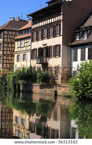Small France - A part of Strasbourg city