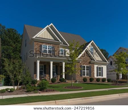 Small house in North Carolina - stock photo