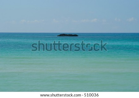 Small island, Grand Bahamas islands