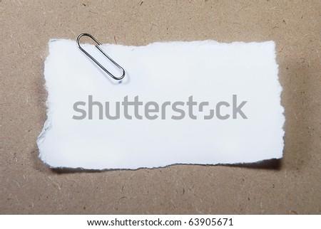 Small Paper - stock photo