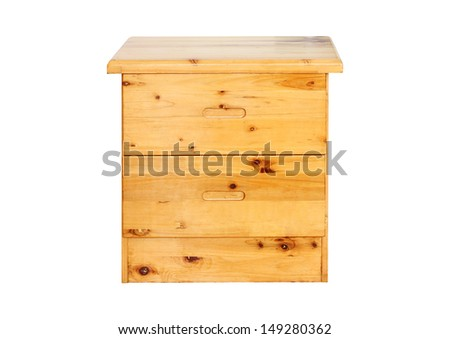 Small Pine Chest of Drawers  - stock photo