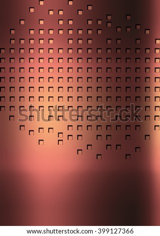 Small Rectangular Texture, Background Unusual modern material design wallpaper. abstract Illustration