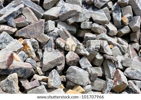 Small rocks - stock photo