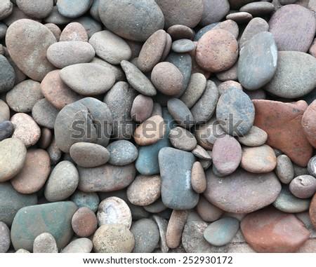Small stone - stock photo