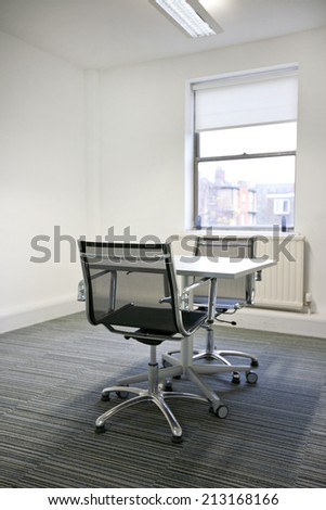 Small table sunny in office