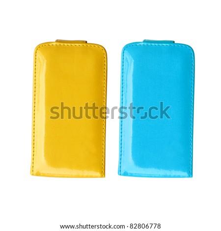 Smart phone case - stock photo