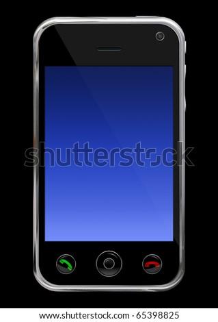 Smart phone, communicator - stock photo