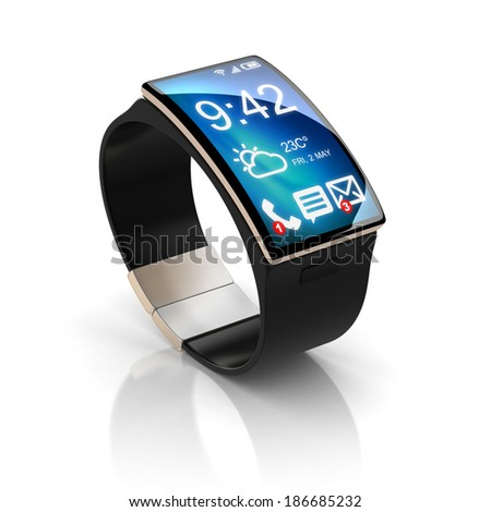 smart watch - stock photo