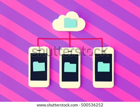 Smartphone Cellphone Networking Telephone Concept