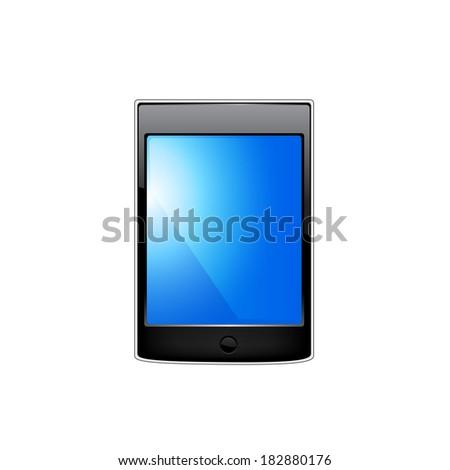 Smartphone editable file. Original design. - stock photo