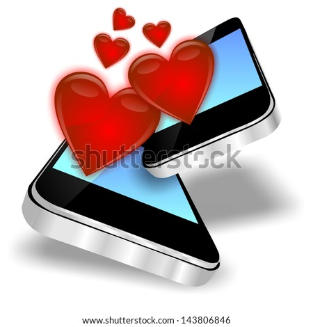 smartphones and hearts