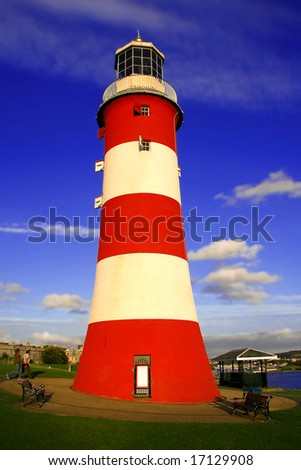 Smeatons tower, Plymouth, UK - stock photo