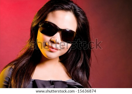 Smile in shades