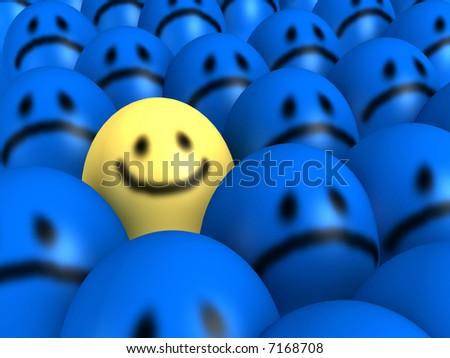 smiles - stock photo