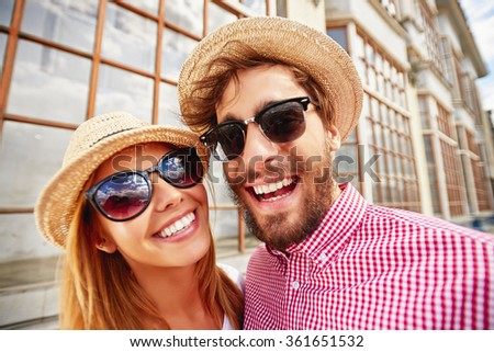Smiley dates - stock photo