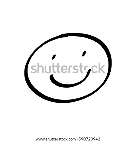 Smiley face drawing on white background stock illustration 590723942 smiley face drawing on white background voltagebd Image collections