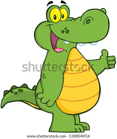 Happy Crocodile Raster Collection Stock Illustration ... - photo#24