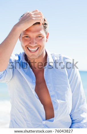 smiling beauty - stock photo
