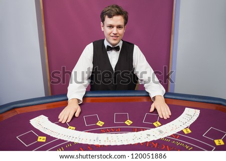 Croupier in casino casino download free fun money