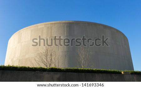 Smithsonian Institution's Hirshhorn Museum and Sculpture Garden - stock photo
