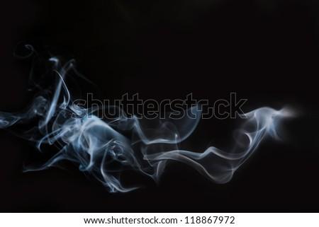 smoke - stock photo