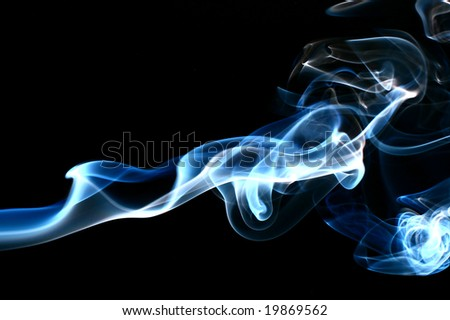 smoke abstract background - stock photo