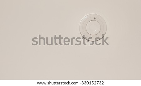Smoke Detector - stock photo