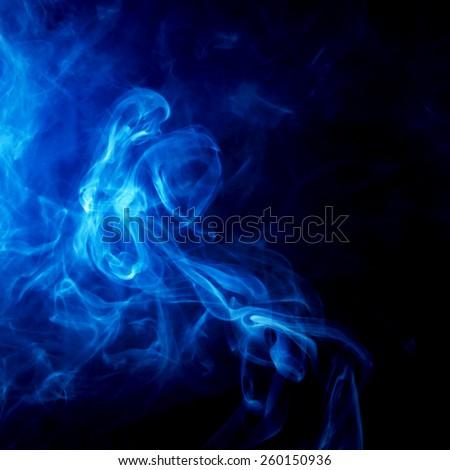 smoke mystic color - stock photo