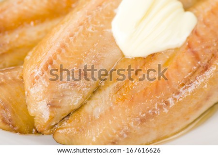 Smoked Kippers - Butterfly smoked herring. - stock photo