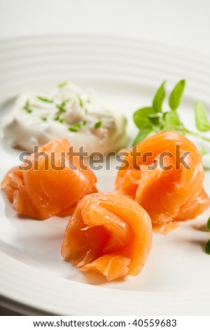 "Similar images to ""Fried toast with cheese and salted salmon"""