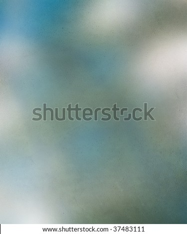 smokey blue and grey textured abstract - stock photo
