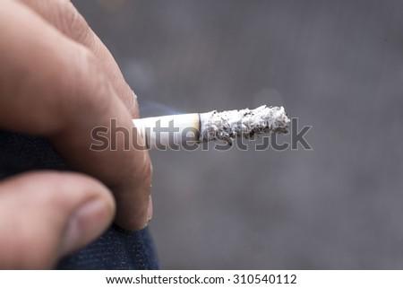 Smoking is a health hazard - stock photo