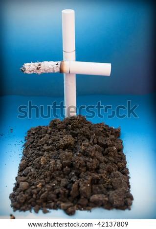 Smoking kills,concept - stock photo