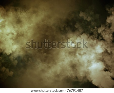 Smoky background - stock photo