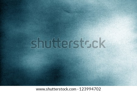 Smoky blue  background - stock photo