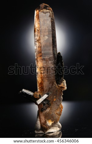 smoky quartz/smoky quartz