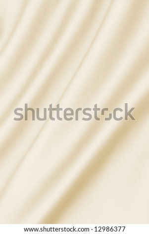 Smooth Cream Satin - stock photo