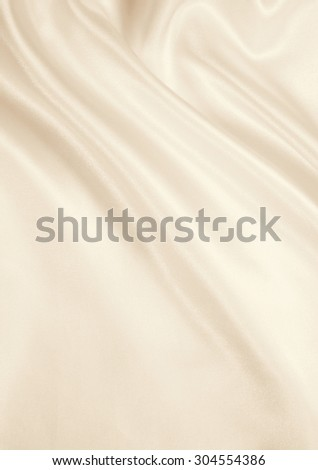 Smooth elegant golden silk or satin texture can use as background. In Sepia toned. Retro style - stock photo